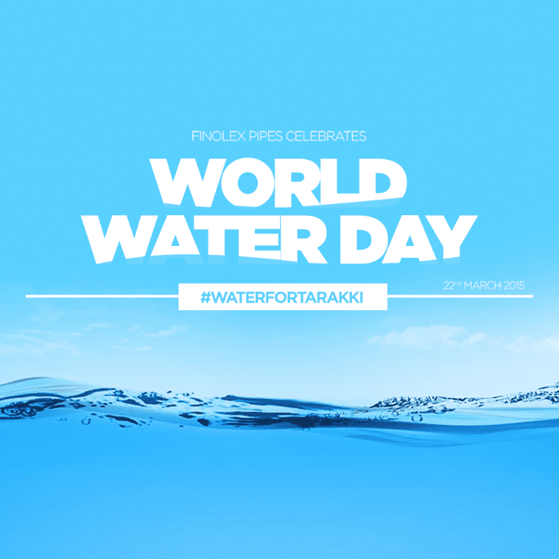 Finolex: World Water Day