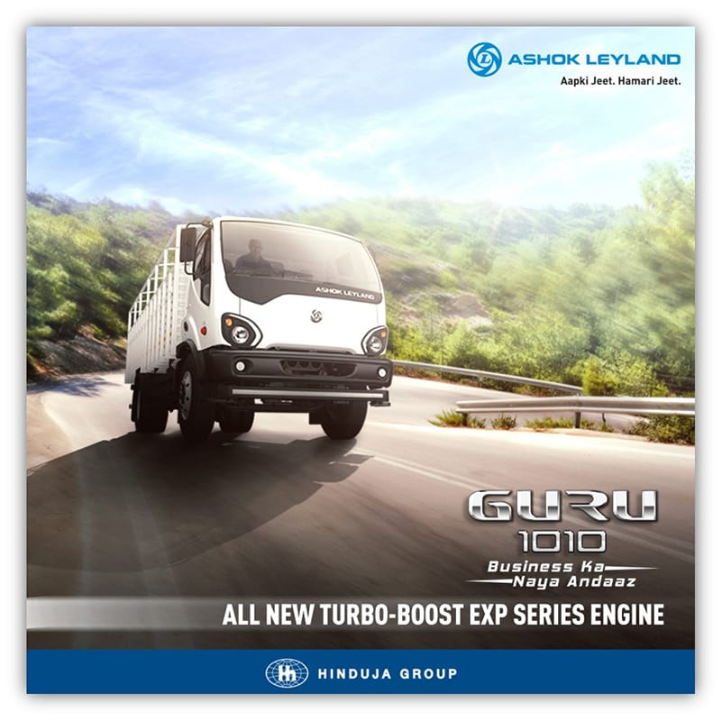 Ashok Leyland on Outdoor & Print