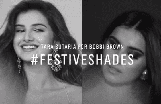 Tara Sutaria for Bobbi Brown: #FestiveShades