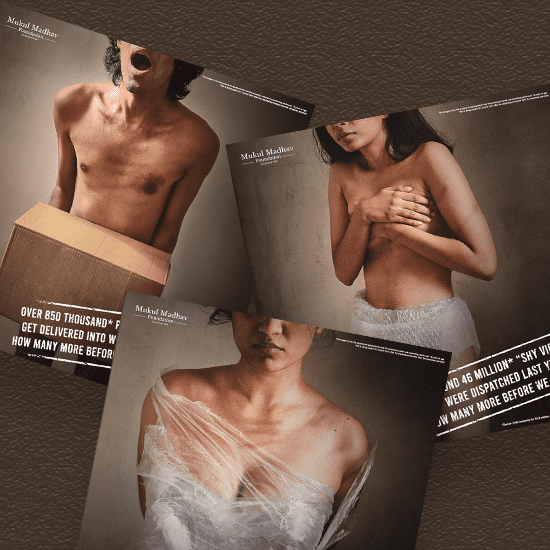 A Bold Campaign on Sex Trafficking by Schbang for Good