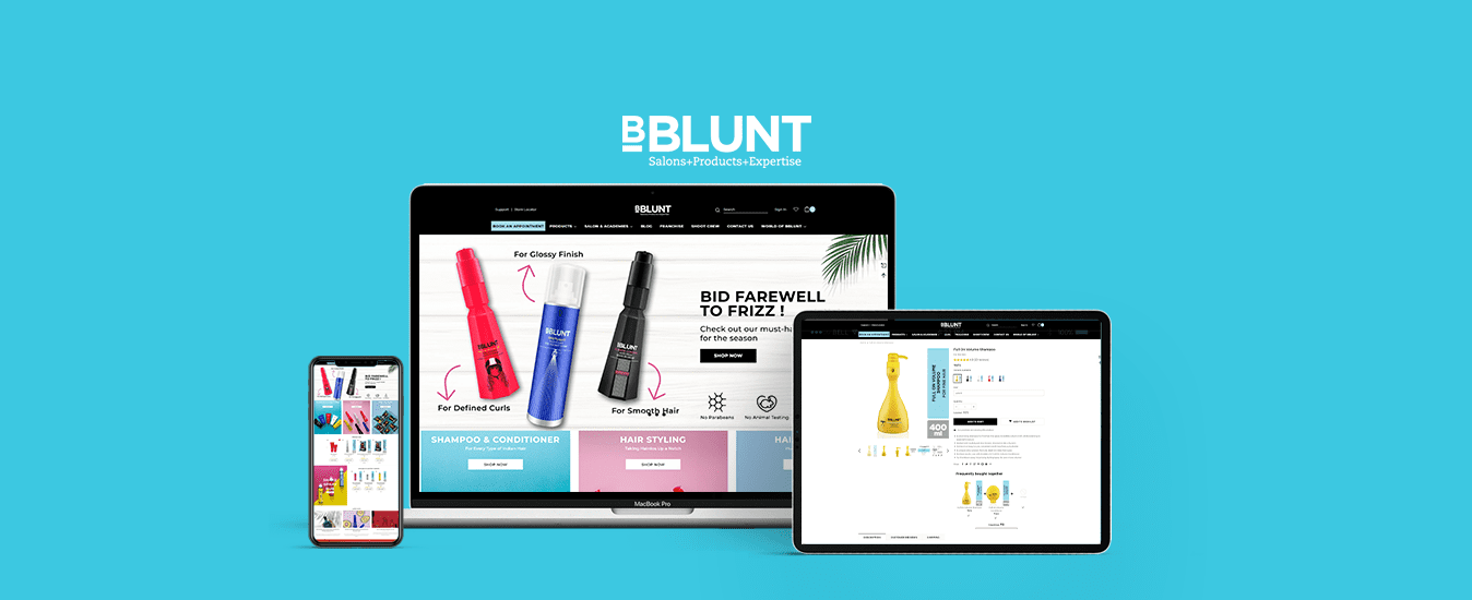 BBLUNT – An Absolute E-Commerce Win